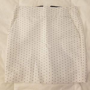 Ann Taylor polka dot skirt NWOT, size 4